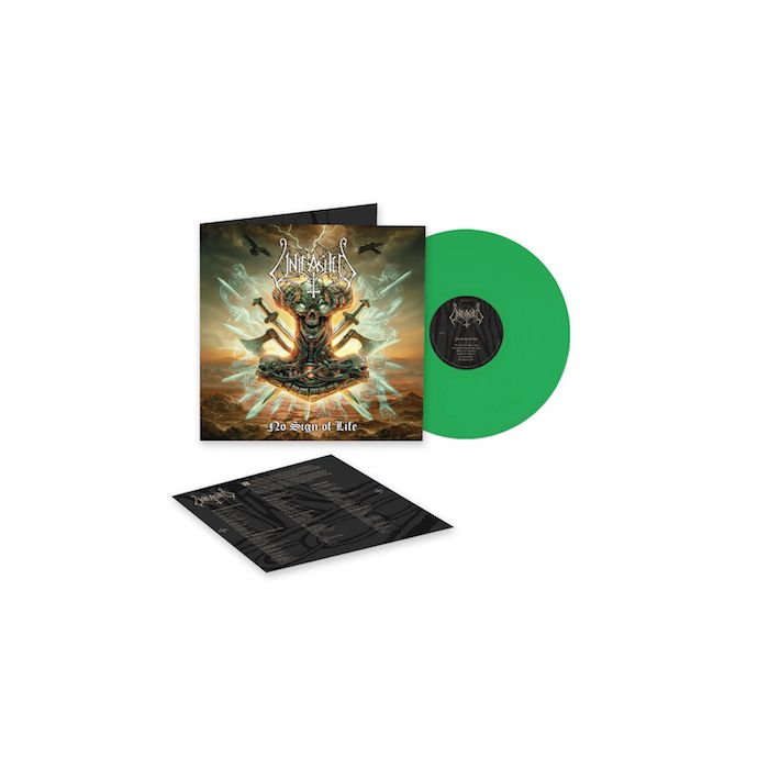 UNLEASHED - No Sign Of Life / LIMITED EDITION CLEAR GREEN LP PRE ORDER RELEASE DATE 11/12/21