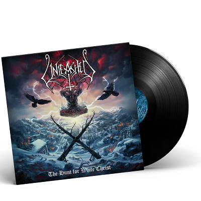 UNLEASHED- The Hunt For White Christ/Limited Edition BLACK Vinyl Gatefold LP