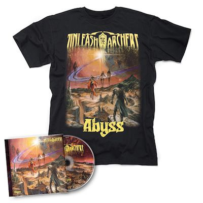 UNLEASH THE ARCHERS - Abyss / CD + T-Shirt Bundle