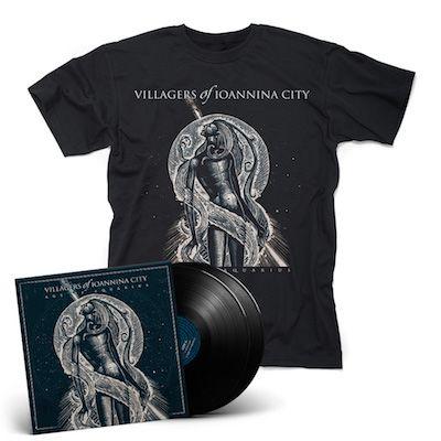 VILLAGERS OF IOANNINA CITY - Age Of Aquarius / BLACK 2LP + T-Shirt Bundle