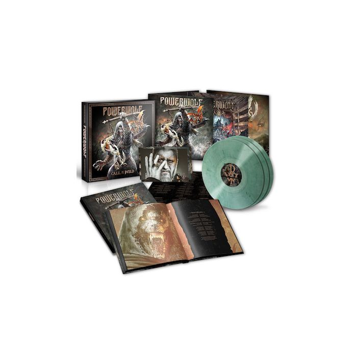 POWERWOLF - Call Of The Wild / LIMITED EDITION CLEAR GREEN 3LP BOXSET PRE-ORDER RELEASE DATE 7/16/21
