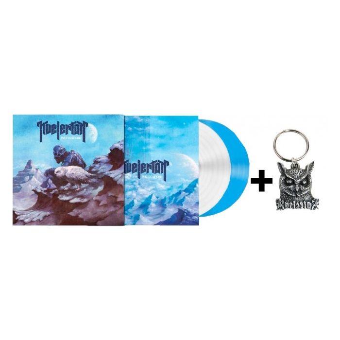 KVELERTAK - Nattesferd / BLUE And WHITE 2-LP Gatefold + Keyring