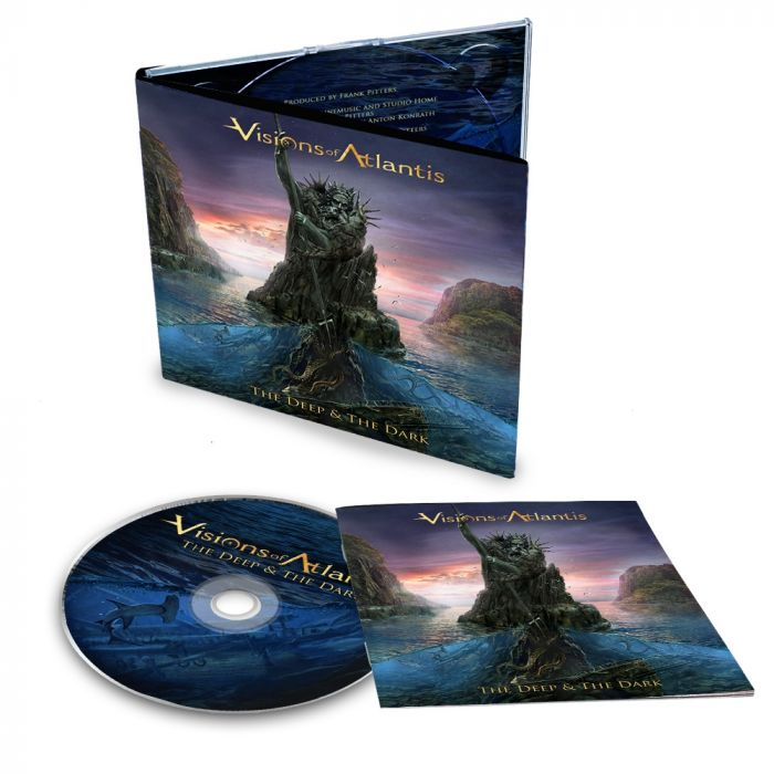 VISIONS OF ATLANTIS-The Deep & The Dark/Limited Edition Digipack CD