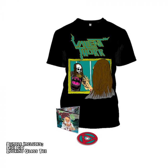 VALIENT THORR-Old Salt/Limited Edition Digipack CD + T-Shirt Bundle