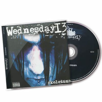 WEDNESDAY 13  - Skeletons / CD