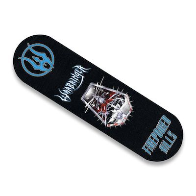 WARBRINGER - Firepower Kills / Limited Edition Skateboard