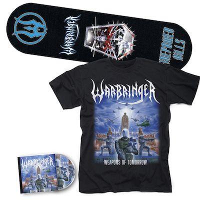 WARBRINGER - Weapons Of Tomorrow / CD + T-Shirt + Skateboard Bundle