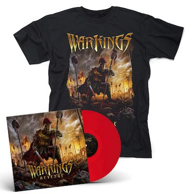 WARKINGS - Revenge / Red LP + T-Shirt Bundle