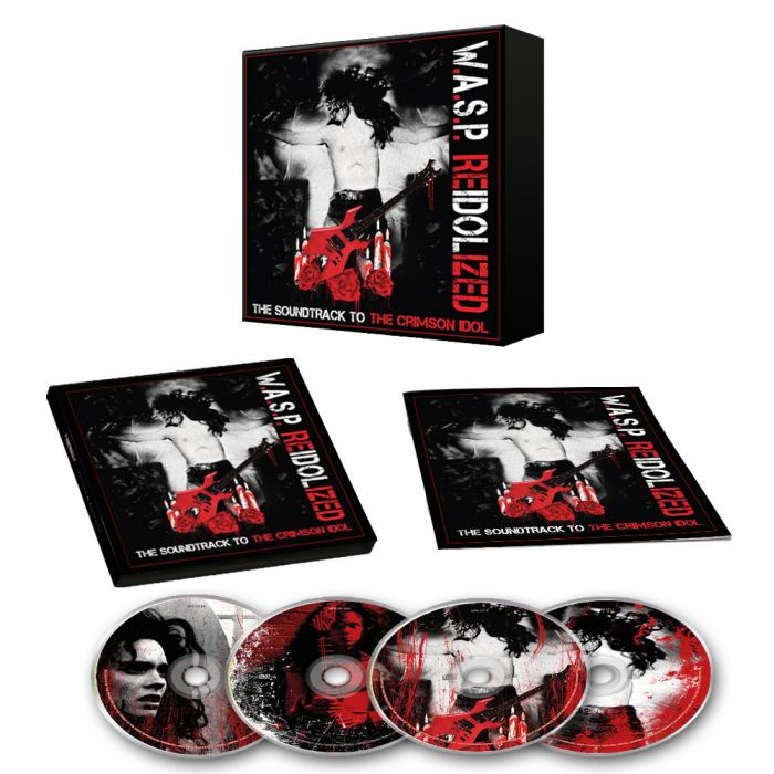 W.A.S.P.-Re-Idolized (The Soundtrack To The Crimson Idol)/Limited Edition 2CD Digipack + Blu-Ray + DVD