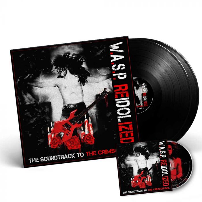 W.A.S.P.-Re-Idolized (The Soundtrack To The Crimson Idol)/Limited Edition BLACK Gatefold 2LP + DVD