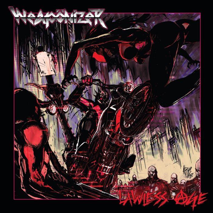 WEAPONIZER - Lawless Age / IRON SKULL SPLATTER LP