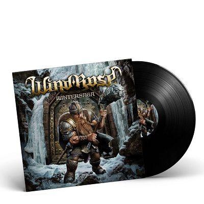 WIND ROSE-Wintersaga/Limited Edition BLACK Vinyl Gatefold LP