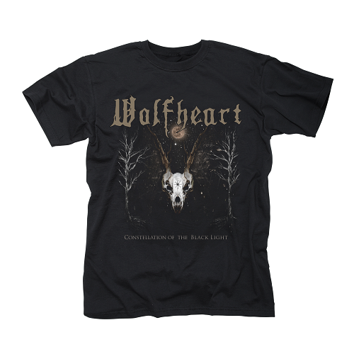 WOLFHEART-Constellation Of The Black Light/T-Shirt