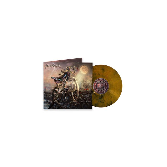 WOLFTOOTH - Blood & Iron / LIMITED EDITION GOLD BLACK MARBLE LP PRE-ORDER ESTIMATED SHIP DATE 12/3/21