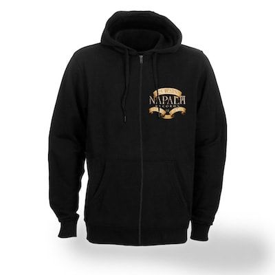 NAPALM RECORDS-25th Anniversary/Zip Hoodie