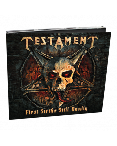 TESTAMENT - First Strike Still Deadly / Digipack