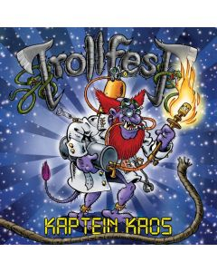 TROLLFEST - Kaptein Chaos/Digipack Limited Edition CD + Bonus DVD