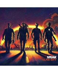 STEAK - Slab City/Digipack Limited Edition CD