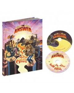 THE ANSWER-Raise A Little Hell//Digipack Limited Edition A5 Mediabook 2CD