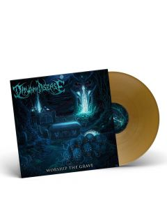 DAWN OF DISEASE-Worship The Grave/Limited Edition GOLDEN Vinyl Gatefold LP
