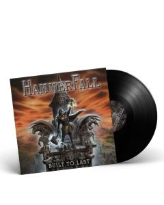 HAMMERFALL-Built To Last/Limited Edition BLACK Gatefold Vinyl LP