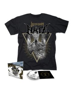 HATE-Tremendum/Limited Edition Digipack CD + T-Shirt BUNDLE
