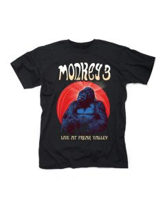 MONKEY3-Live At Freak Valley/T-Shirt