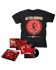 ALTER BRIDGE-Live At The O2 Arena + Rarities/Limited Edition Black Vinyl 4LP Boxset + T-Shirt Bundle