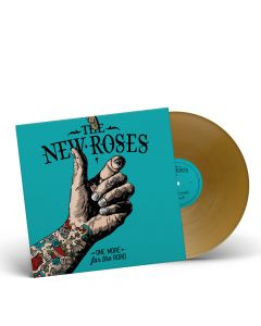 THE NEW ROSES-One More For The Road/Limited Edition GOLD Vinyl LP