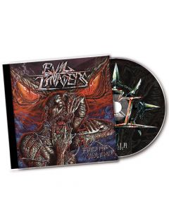 EVIL INVADERS-Feed Me Violence/CD