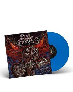 EVIL INVADERS-Feed Me Violence/Limited Edition BLUE Gatefold LP