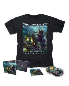 THE UNGUIDED-And The Battle Royale/Limited Edition Digipack CD-DVD + T-Shirt Bundle