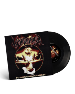 WARBRINGER-Power Unsurpassed/Limited Edition BLACK Vinyl 7 inch EP