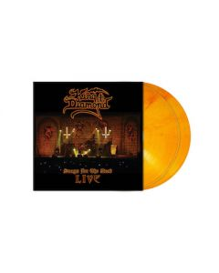 KING DIAMOND - Songs For The Dead: Live / NAPALM EXCLUSIVE Orange Red Marbled 2LP