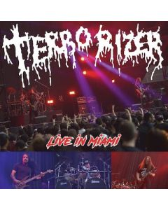 TERRORIZER - Live In Miami / BLOODY-RED 7 Inch E.P.