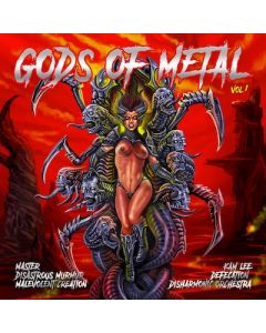 GODS OF METAL - Volume 01 / TRANSPARENT RED LP