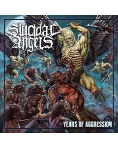 SUICIDAL ANGELS-Years of Aggression/Limited Edition Digipack CD