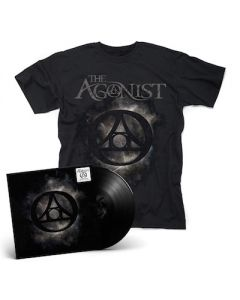THE AGONIST – Orphans / BLACK LP Gatefold + T- Shirt Bundle