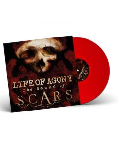 LIFE OF AGONY - The Sound Of Scars / BLOOD RED LP