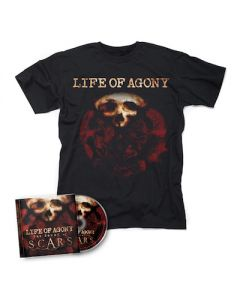 LIFE OF AGONY - The Sound Of Scars / CD + T-Shirt Bundle