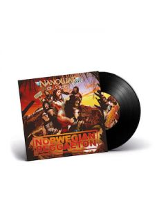 NANOWAR OF STEEL - Norwegian Reggaeton / BLACK 7 Inch EP