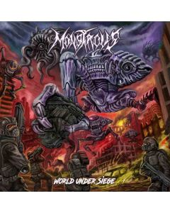 MONSTROUS - World Under Siege / CD