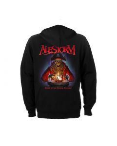 ALESTORM - Curse Of The Crystal Coconut / Zip Hoodie