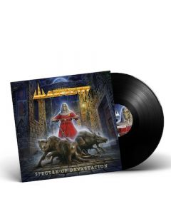 WARFECT - Spectre Of Devastation / BLACK LP