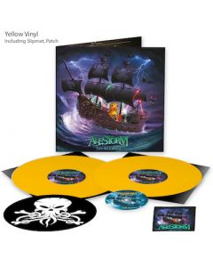 ALESTORM - Live in Tilburg / LIMITED DIEHARD EDITION YELLOW 2LP + DVD WITH PATCH + SLIPMAT