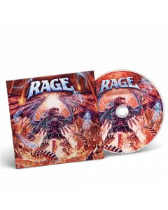 RAGE - Resurrection Day / Digipak CD PRE-ORDER RELEASE DATE 9/17/21