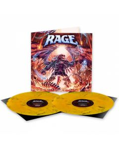 RAGE - Resurrection Day / NAPALM RECORDS EXCLUSIVE ORANGE BLACK MARBLE 2LP