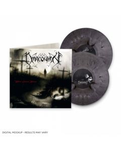 DRACONIAN - Where Lovers Mourn / LIMITED EDITION MARBLE SILVER BLACK 2LP PRE-ORDER ESTIMATED RELEASE DATE 12/17/21