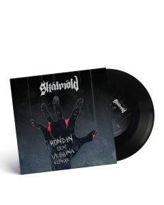 "SKALMÖLD/OMNIUM GATHERUM-Höndin sem veggina klórar / Blade Reflections Limited Edition Split 7"" BLACK Vinyl EP"