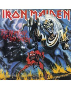 IRON MAIDEN - Number Of The Beast / LP